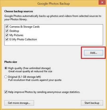 3 bước đơn giản để upload ảnh/ video lên Google Photos